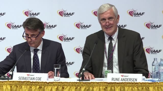 the iaaf voted unanimously friday to extend the ban on the doping tainted russian federation but left the door ajar for some track and field stars to... - ajar stock videos & royalty-free footage
