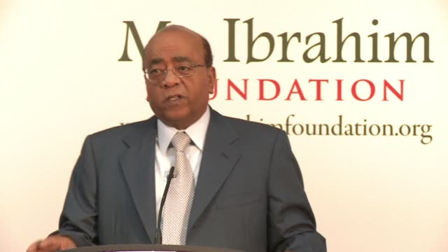 the ibrahim prize for achievement in african leadership the worlds biggest individual prize has no winner for the fourth time in five years it was... - occurrence stock videos and b-roll footage