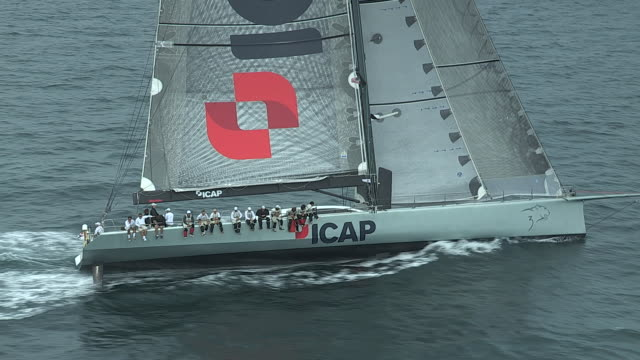 The ICAP Leopard competes in a Trans-Atlantic race.