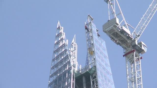 The iconic 'Shard' in London designed by architect Renzo Piano and set to become the tallest building of the European Union standing at 310 meters is...