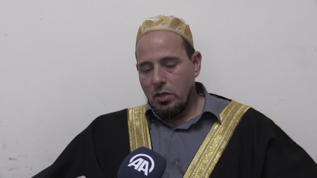 the imam of one of the mosques that came under a terror attack in new zealand last month described the incident as a second 9/11 speaking to anadolu... - 2001 stock videos & royalty-free footage