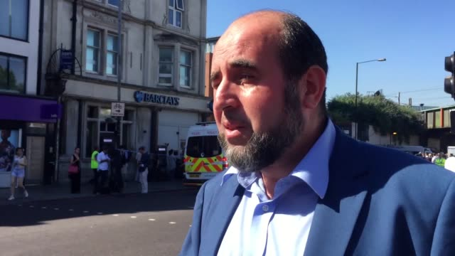 The imam was hailed as the hero of the day by Toufik Kacimi chief executive of the Muslim Welfare House outside which the attack took place