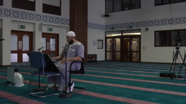 the imam – who you filmed doing the service in the mosque was called senior imam shaykh mohammed mahmoud. east london mosque is one – one of the... - religious service stock videos & royalty-free footage