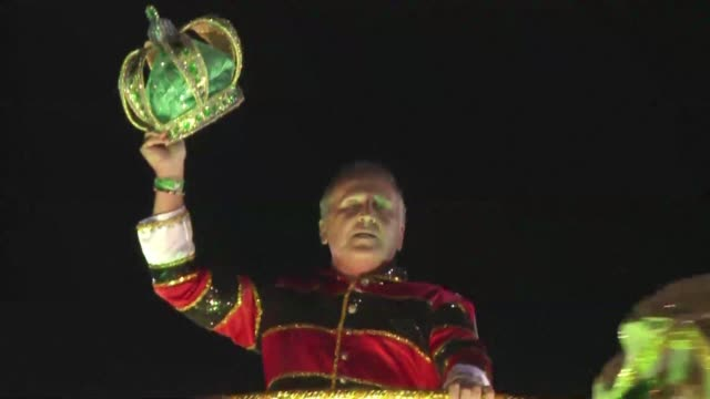 The Imperatriz Leopoldinense samba school pays tribute to Zico the former Brazil and Flamengo star at the Rio Carnival CLEAN From Maracana to the...