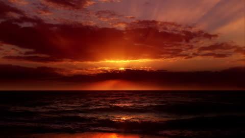 das unmögliche perfekten sonnenuntergang - sunset stock-videos und b-roll-filmmaterial