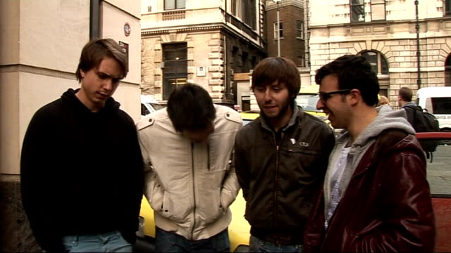 'The Inbetweeners' actors complete 'Rude Road Trip' challenge for Comic Relief Thomas Harrison Buckley and Bird interview SOT On the roadtrip...