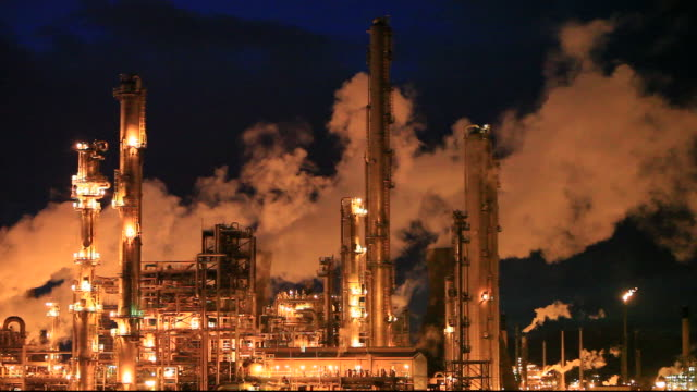 the Ineos oil refinery at Grangemouth in the Firth of Forth, Scotland, UK. It is Scotlands only oil refinery. It takes oil from a pipeline from the Forties North Sea production area, and processes 10 million tonnes of crude oil a year. As such it is a larg