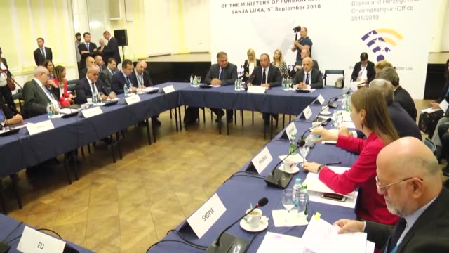 The Informal Meeting of Ministers of Foreign Affairs of the South East European Cooperation Process countries is held in Banja Luka on September 05...