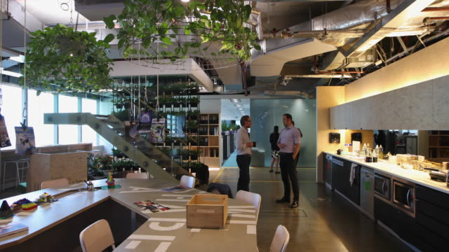 the interior office space of the engineering company arup offices on november 2 2016 in sydney australia on november 56th sydney open welcomes the... - peter greenaway stock videos & royalty-free footage