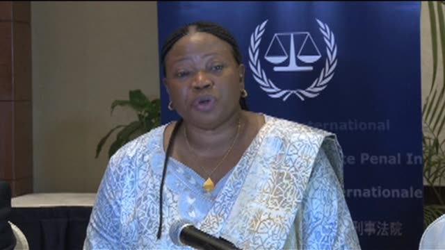 the international criminal courts chief prosecutor pleaded on friday for ugandan lords resistance army rebel chief joseph kony to surrender vowing he... - prosecutor stock videos & royalty-free footage