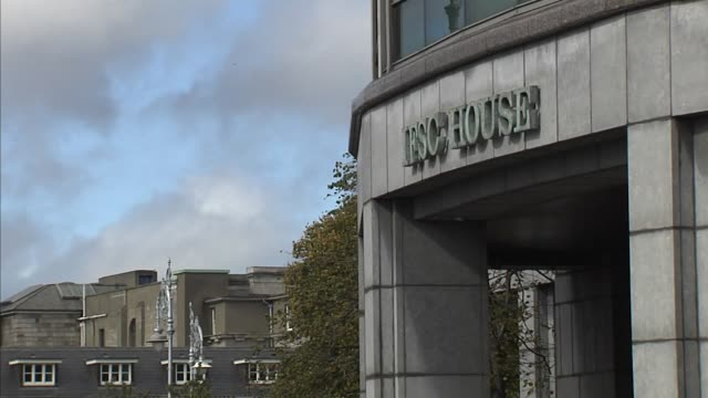 the international financial services centre house stands in dublin ireland on friday september 22 offices include jp morgan wells fargo citibank the... - wells fargo stock videos and b-roll footage
