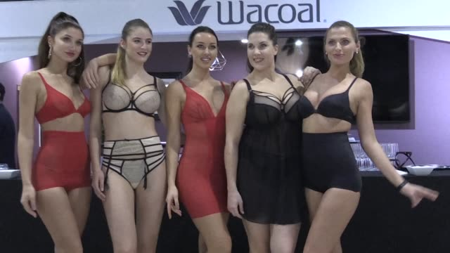 The international lingerie show opened its doors in Paris on Saturday with more than 500 brands taking part in the event showcasing everything from...