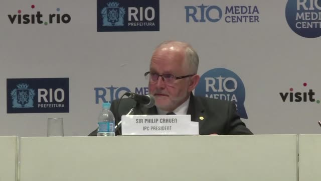 vídeos de stock, filmes e b-roll de the international paralympic committee bans russian athletes from participating in the rio paralympic games over alleged state sponsored doping - rio russian