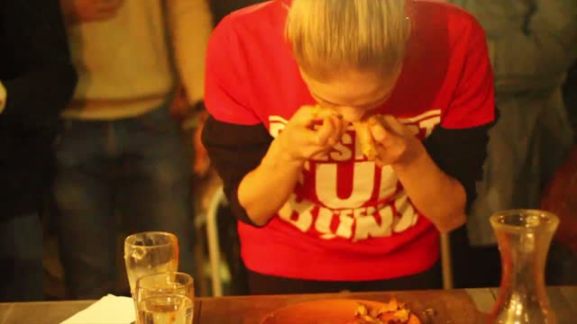 the internet is no stranger to nela zisser, the competitive eater and model from new zealand who regularly posts videos of her challenges. here she's... - contestant stock videos & royalty-free footage