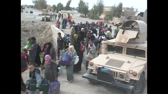 The Iraqi army continues to advance west of Ramadi capital of the Anbar province towards the city of Hit freeing hundreds of civilians trapped in the...