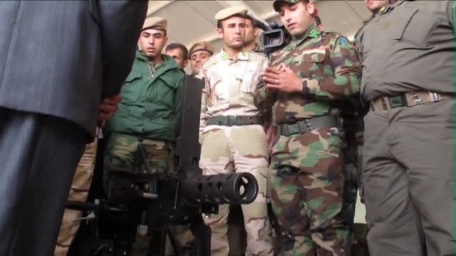 The Iraqi minister of defencs visited with the Kurdistan Regional Government forces at a peshmerga training camp in Arbil on Monday saying that the...