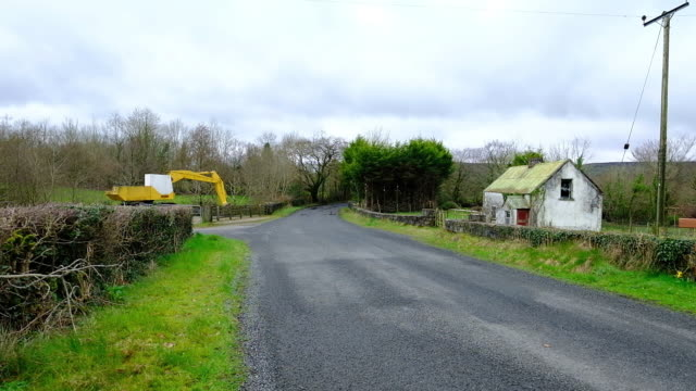 The 310 Miles Breaking Brexit A former customs post sits on the Irish border on the R187 as vehicles travel along the highway between Rosslea and...