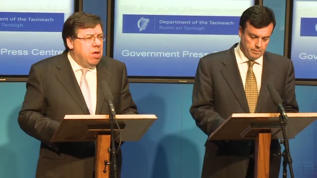The Irish government requested a bailout for its beleaguered economy from the European Union and the International Monetary Fund on Sunday night...