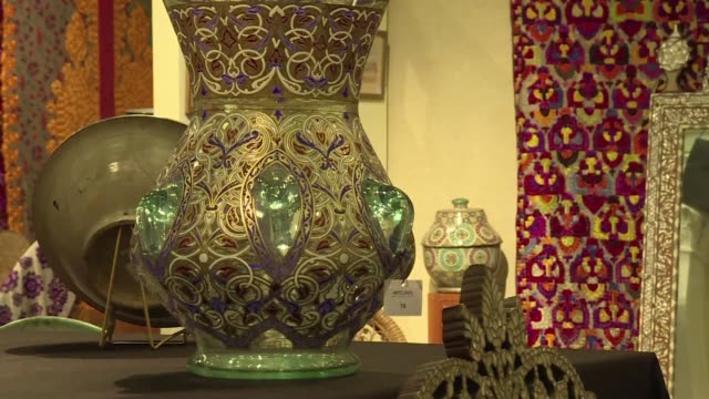 The Islamic art collection of Yves Saint Laurent and Pierre Berge went on sale on Saturday in Marrakech