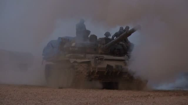 the islamic state group recaptured albu kamal in eastern syria on saturday after a fierce fightback to save the last urban bastion of its collapsing... - fighter stock videos & royalty-free footage