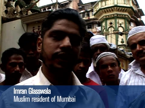 the islamist militant attacks on mumbai raise fears that india could see a sectarian backlash as hindu and muslim groups exploit mutual suspicion for... - militant groups stock videos and b-roll footage