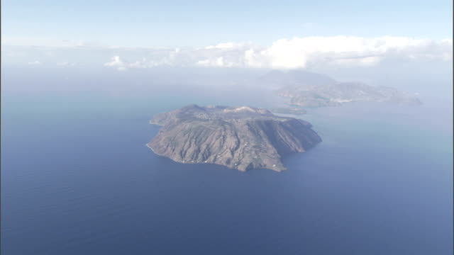 The island of Sicily lies off the coast of Italy in the Mediterranean Sea. Available in HD.