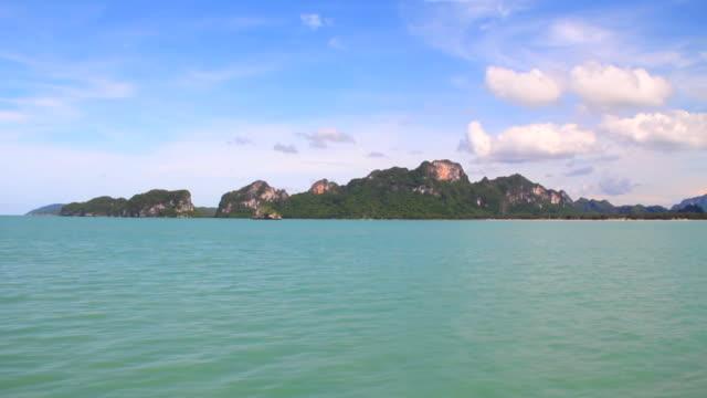 (vista desde la isla en transbordador, Time lapse).