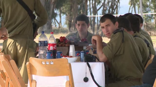 the israeli government decided on tuesday to hold off from launching a ground invasion of the gaza strip to give the egyptian led truce efforts a... - ashkelon stock videos and b-roll footage