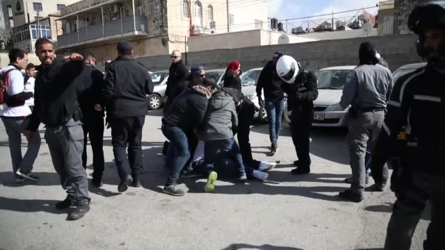 The Israeli police turned Jerusalem on March 09 2018 morning into a military barracks under the pretext of securing a marathon held in the city while...