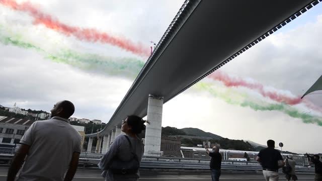 ITA: Genova San Giorgio Bridge Inauguration