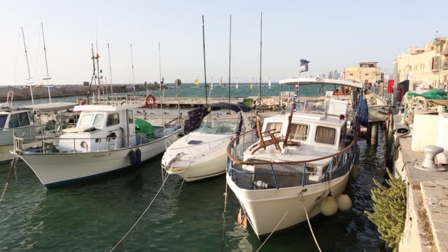 the jaffa port - jaffa stock videos & royalty-free footage