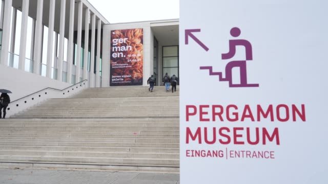 DEU: At Least 70 Art Works Vandalized At Berlin Museums