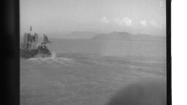 vidéos et rushes de the japanese imperial navy invades the pearl river delta of southern china. - vaisseau de guerre