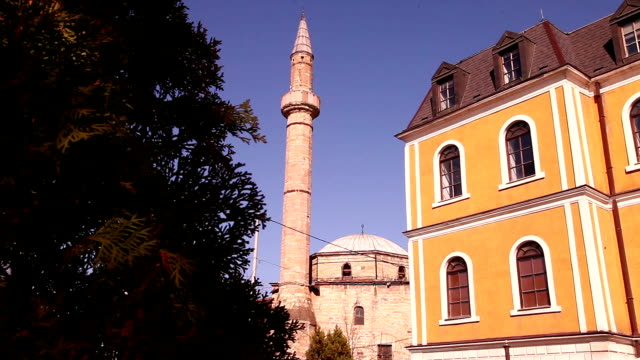 the jashar pasha mosque - pristina stock videos and b-roll footage