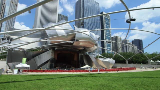 The Jay Pritzker Pavilion, Millenium Park, Chicago
