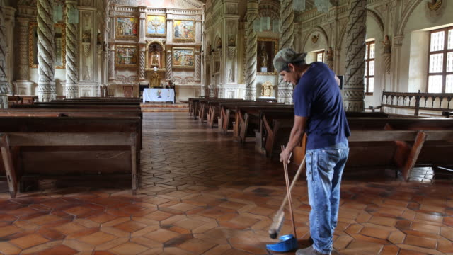 the jesuit reduction san javier in bolivia - missionary stock videos & royalty-free footage