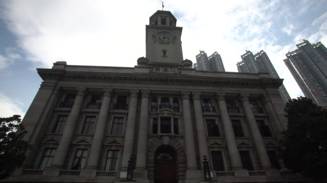 the jianghan customs building located in wuhan city. - 1921 stock videos & royalty-free footage