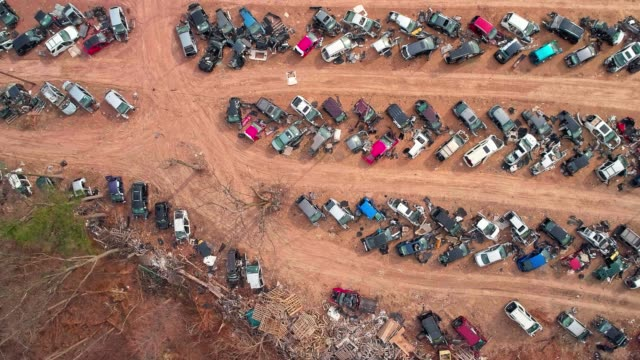 the junk yard - junkyard stock videos and b-roll footage