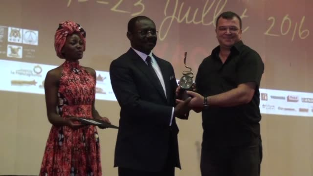 the jury for cameroonian film festival ecrans noirs has awarded moroccan director hicham el jebbari the ecran d'or for his film satan's tears at the... - dor stock videos & royalty-free footage