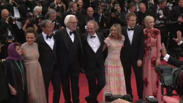 The jury for the 69th edition of the Cannes film festival walked the red carpet before the opening ceremony