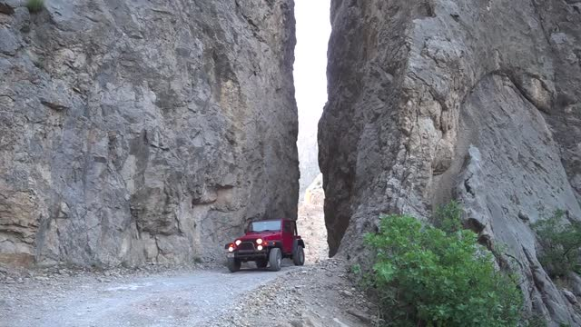 the karanlik canyon in eastern turkey welcomes adrenaline enthusiasts every season with its natural beauties as well as numerous tunnels, bends, and... - canyon stock videos & royalty-free footage
