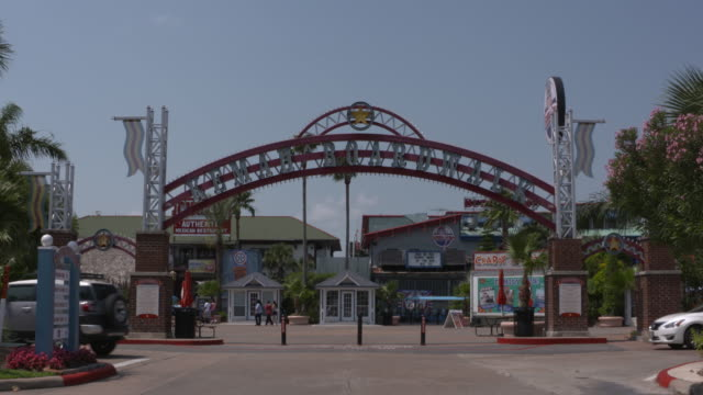 KIAH The Kemah Texas Kemah Boardwalk entrance on May 10 2016