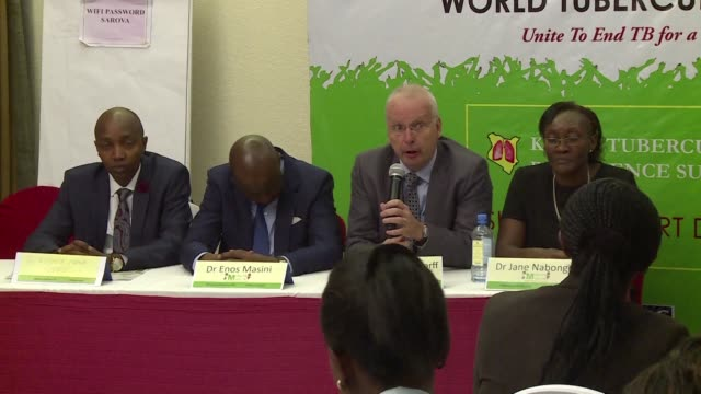 the kenyan ministry of health releases the findings of kenya's first post independence tuberculosis prevalence survey - tuberculosis stock videos and b-roll footage