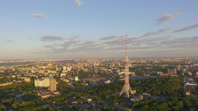 the kiev tv tower - 1973 stock videos & royalty-free footage