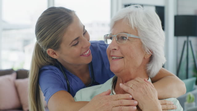the kind of care that comes from the heart - clinica medica video stock e b–roll