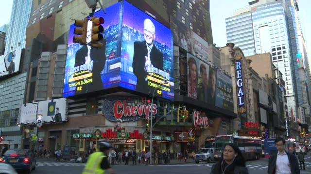the king of america's special brand of latenight television david letterman broadcasts his final show closing the door on a pioneering 33yearlong... - letterman stock videos & royalty-free footage