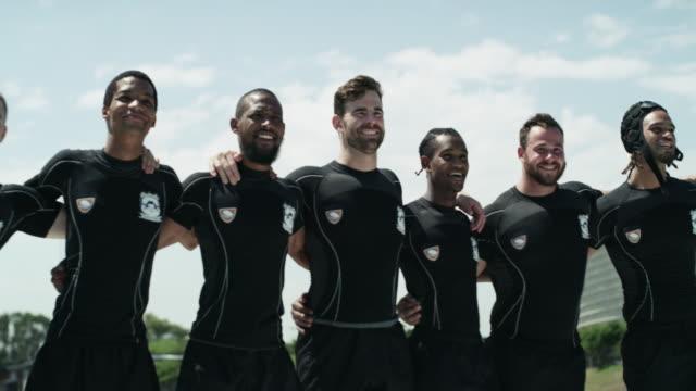 vídeos de stock e filmes b-roll de the kings of rugby - râguebi desporto