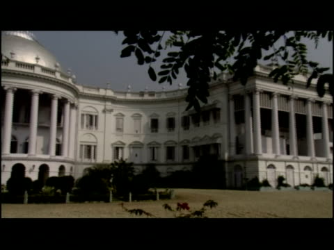 the kolkata palace serves as a government building in kolkata, india. - kolkata stock videos & royalty-free footage