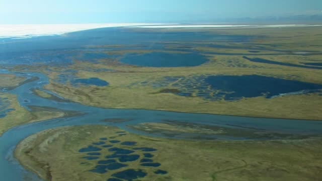 the kongakut river delta - arctic national wildlife refuge stock videos & royalty-free footage