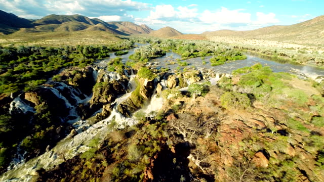 HELI The Kunene River With Epupa Falls